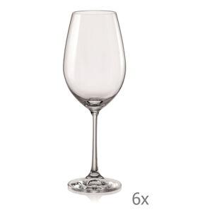 Sada 6 sklenic na víno Crystalex Viola,350ml