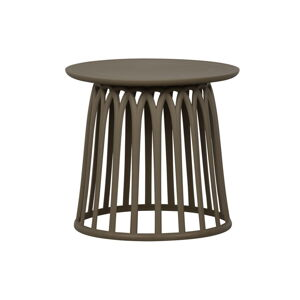 Zelený zahradní konferenční stolek WOOD Boy,ø50cm