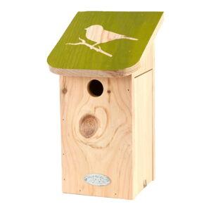 Budka pro ptáky z masivní borovice Esschert Design Diapozitiv
