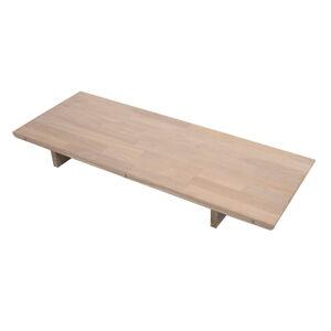 Přídavná deska k rozkládacímu stolu z dubového dřeva Canett Martell