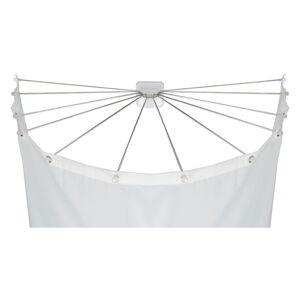 Kruhový držák na sprchový závěs Wenko Shower Umbrella