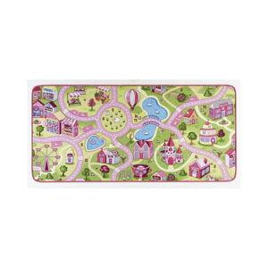 Dětský koberec s růžovými detaily Hanse Home City, 200x300cm