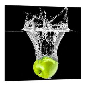Obraz Styler Glasspik Green Fruits, 20 x 20 cm