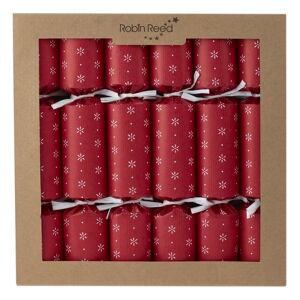 Sada 6 vánočních crackerů Robin Reed Paper Decorations