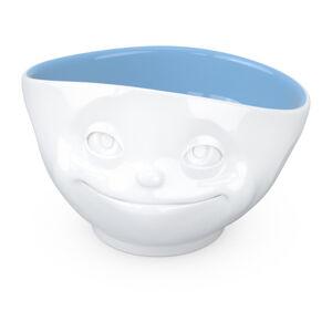 Bílo-modrá porcelánová zamilovaná miska 58products