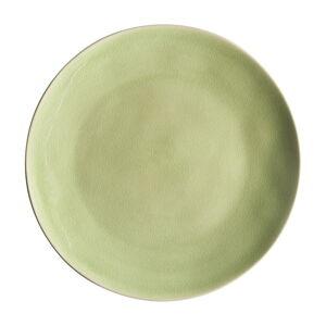 Světle zelený kameninový talíř Costa Nova Riviera, ⌀ 27 cm