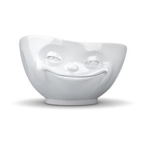Bílá porcelánová usměvavá miska 58products