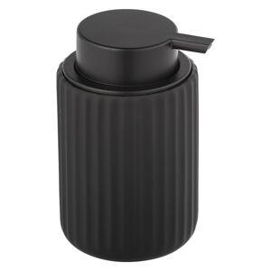 Černý keramický dávkovač na mýdlo Wenko Belluno