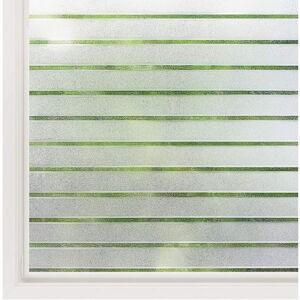 Matná nálepka na sklo s ochranným filmem Ambiance Lines, výška 2 m