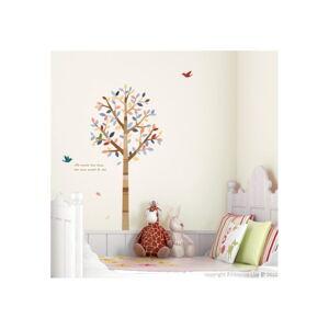 Samolepka Ambiance Tree and birds