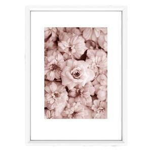 Plakát v bílém rámu Piacenza Art Bloom, 33,5 x 23,5 cm