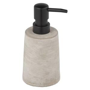 Šedý betonový dávkovač na mýdlo Wenko Villena