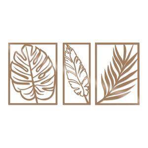 Nástěnná dekorace ve zlaté barvě Tanelorn Scandi