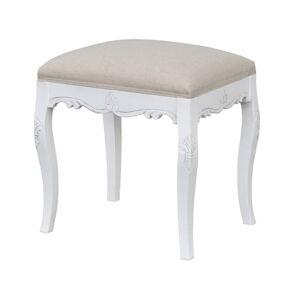 Bílá stolička z topolového dřeva Livin Hill Rimini