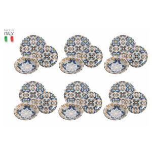 18dílná sada keramického talířů Villad'Este Palermo