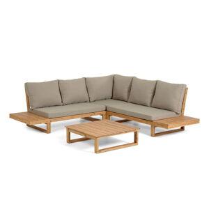 Set zahradního nábytku z akáciového dřeva La Forma Flaviina
