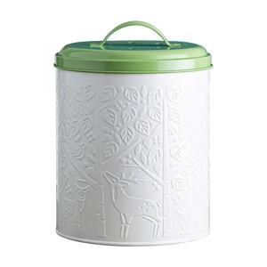 Bílo-zelený kuchyňský kompostér Mason Cash In the Forest,2,5l