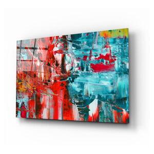 Skleněný obraz Insigne Abstract Reflection,110 x70cm