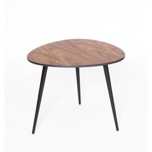 Konferenční stolek s černými nohami Ragaba Pawi Pick, 55 x 50 cm