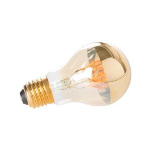 Žárovka ve zlaté barvě White Label Classic Mirror E27
