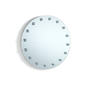 Nástěnné zrcadlo s osvětlením Tomasucci Afrodite,ø50cm