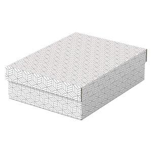 Sada 3 bílých úložných boxů Leitz Eselte,26,5x36cm