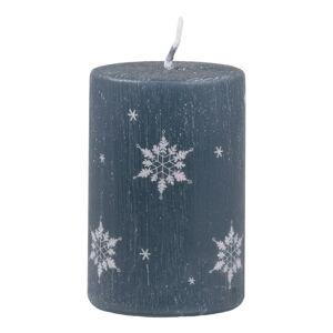 Tmavě modrá svíčka Unipar Ice, doba hoření 18 h