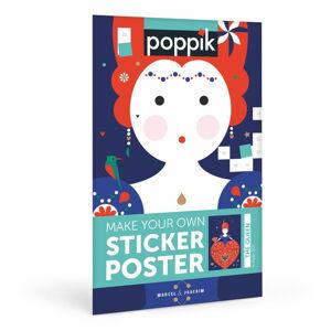 Samolepkový plakát Poppik Královna