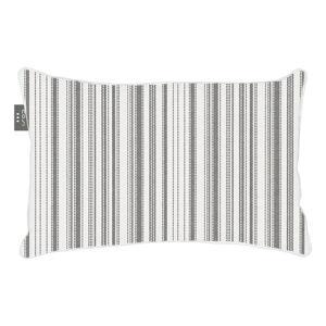 Bílo-černý výhřevný polštář Cosi z látky Sunbrella, 40 x 60 cm