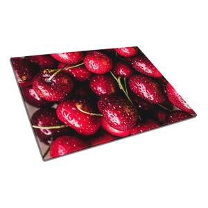 Skleněné prkénko na krájení obraz Insigne Cherries