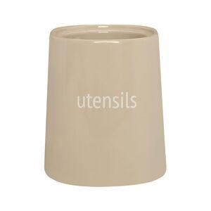 Krémová nádoba na kuchyňské nástroje Premier Housewares Fletcher, 800 ml
