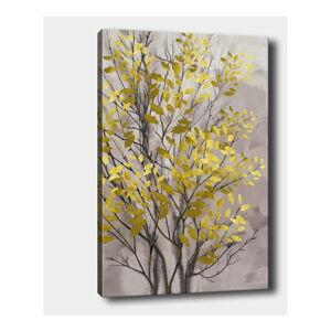 Nástěnný obraz na plátně Tablo Center Fall Yellow, 40 x 60 cm
