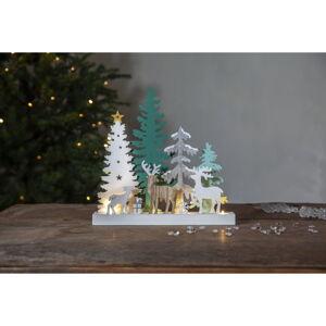 Vánoční světelná LED dekorace Star Trading Reinbek Forest