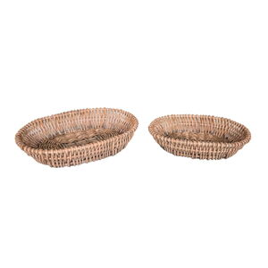 Sada 2 proutěných košíků na ovoce Antic Line