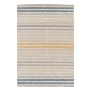 Modro-oranžový venkovní koberec Bougari Paros, 120 x 170 cm