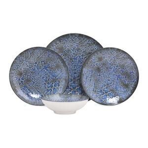 24dílná sada porcelánového nádobí Güral Porselen Ornaments