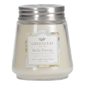 Svíčka ze sojového vosku Greenleaf Freesie, doba hoření 30 - 40 hodin