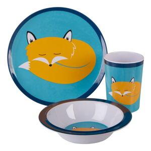 3dílný dětský jídelní set Premier Housewares Mimo Felix Fox