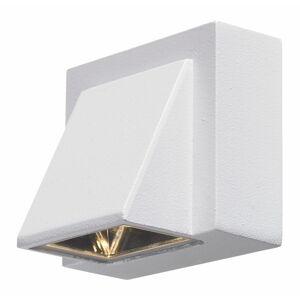 Bílé nástěnné svítidlo Markslöjd Carina, 8 x 7,5 cm