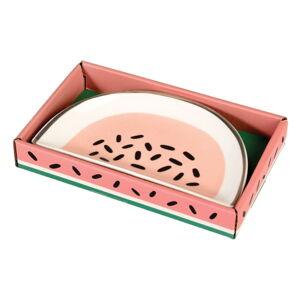 Ozdobný porcelánový talířek Rex London Watermelon