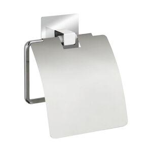 Samodržící držák na toaletní papír s krytkou Wenko Quadro