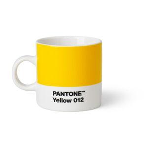 Světle žlutý hrnek Pantone Espresso, 120 ml