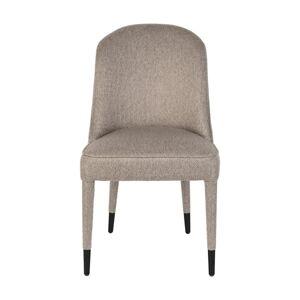 Sada 2 béžových jídelních židlí Dutchbone Burton