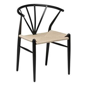 Černá jídelní židle DAN–FORM Denmark Delta