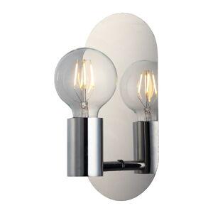 Nástěnné svítidlo ve stříbrné barvě Homemania Decor Zala
