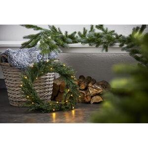 Vánoční věnec s LED žárovkami Star Trading Thuja