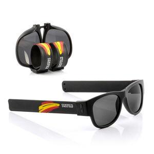 Černé sluneční srolovatelné brýle InnovaGoods Sunfold Mondial Spain