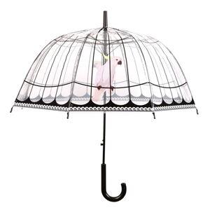 Transparentní větruodolný deštník Esschert Design, ⌀81cm