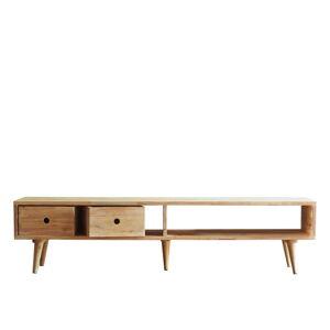 Dřevěný TV stolek DEEP Furniture Dexter