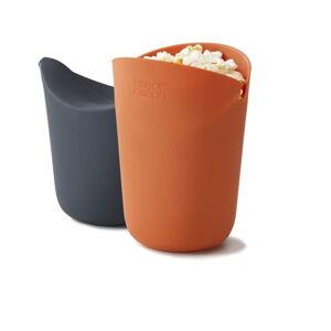 Sada 2 nádobek na přípravu popcornu v mikrovlnné troubě Joseph Joseph M-Cuisine